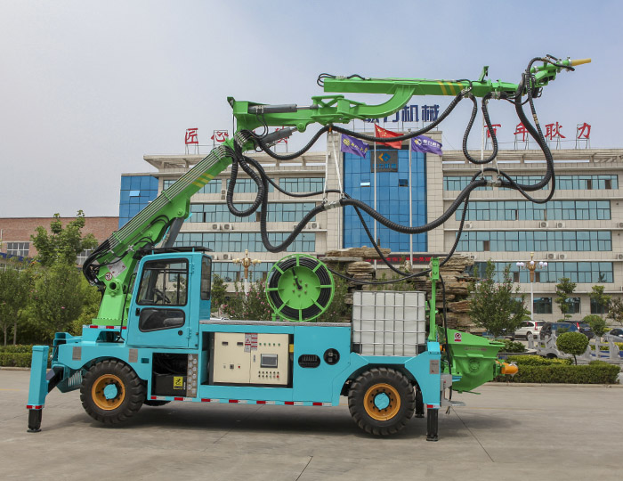 GHP30G-IV Engineering concrete wet spraying trolley