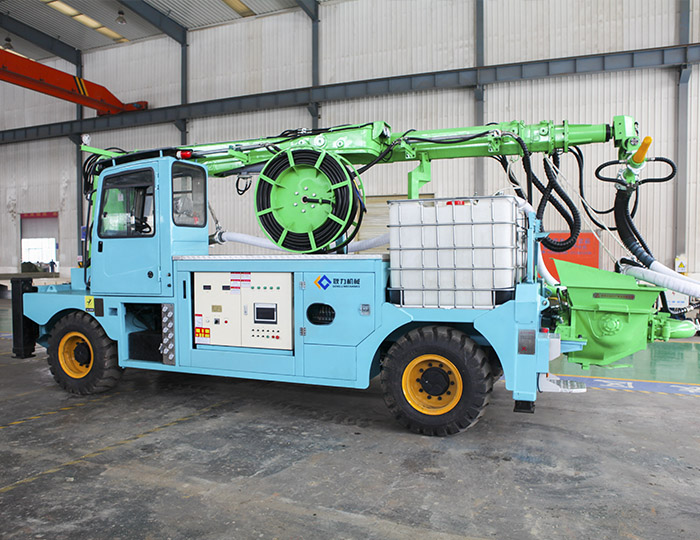 GHP30G-IVA Engineering concrete wet spraying trolle