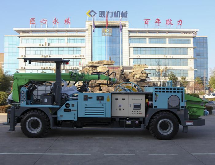 GSPB25T Diesel wet concrete spraying trolley