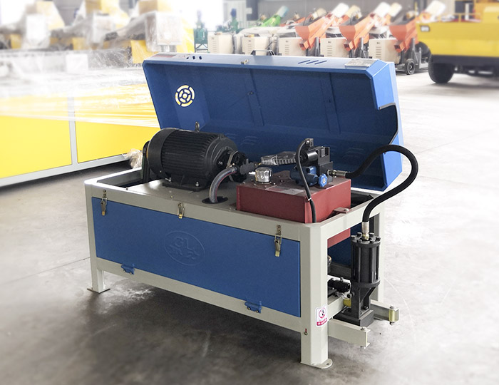 GL4-12 Steel bar straightening and cutting machine