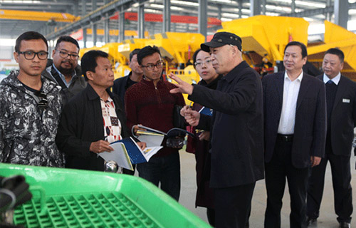 Indonesian customers visit Gengli Machinery