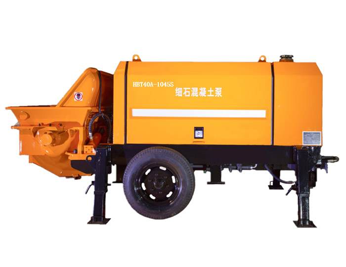 concrete conveying pump