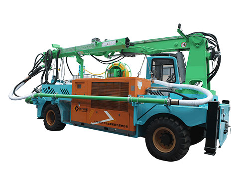GHP30G-IVB Engineering concrete wet spraying trolle