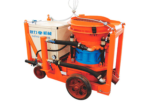 PZ-6F Dry shotcrete machine