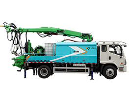 GHP2516C-Ⅱ Truck-mounted concrete wet spraying trolley