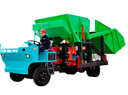 GLZ-14C Combined auto-feeding shotcrete unit