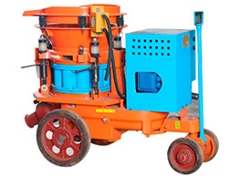 PZ-5D Dry shotcrete machine