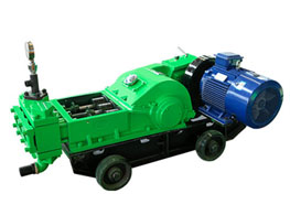 GL-3ZA Tri-plunger high-pressure grouting pump