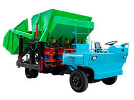 GLZ-21 Combined auto-feeding shotcrete unit