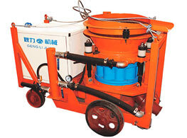 PZ-7F Dry shotcrete machine