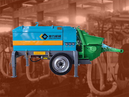 Hydraulic wet mix shotcrete machine GYP-90