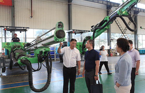 The General Office of the CPC Central Committee visited Geng Li to guide the work