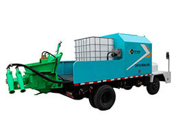 GHP20G Truck-mounted wet shotcrete machine